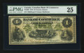 Canadian Currency: , Toronto, ON- The Canadian Bank of Commerce $4 July 1, 1870 Ch #75-10-06. ...