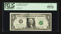 Error Notes:Ink Smears, Fr. 1908-G $1 1974 Federal Reserve Note. PCGS About New 50PPQ.. ...
