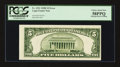 Error Notes:Miscellaneous Errors, Fr. 1531 $5 1928F Legal Tender Note. PCGS Choice About New 58PPQ.. ...