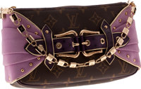 Louis Vuitton Lilac Draped Ostrich Pochette, 2004 Les Extraordinaires Collection
