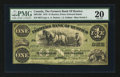 Canadian Currency: , Rustico, PEI- The Farmers Bank of Rustico $1 Jan. 2, 1872 Ch #290-12-02. ...