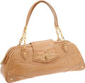 Luxury Accessories:Bags, Judith Leiber Large Beige Alligator Bag, Retail $7695. ...