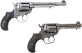 "Military & Patriotic:Indian Wars, Two Consecutively Serial Numbered Colt M1877 Double Action""Lightning"" Revolvers, Identified to the Pacific Express Company.... (Total: 2 Items)"