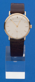 Timepieces:Wristwatch, Tiffany & Co. Gents 14k Gold Manual Wind. ...