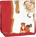 "Luxury Accessories:Accessories, 2 Hermes of Paris Silk Scarves; ""Reprise"" by Ledoux and ""Timbalier""by Heron. ... (Total: 2 Items)"