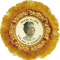 Political:Ferrotypes / Photo Badges (pre-1896), Woman's Suffrage: A Rare Portrait Badge Active Ohio SuffragetteKate B. Sherwood Kate B. Sherwood was a nationally known fig...