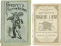 Antiques:Black Americana, Pair of Minstrel Songsters A pair of minstrel songsters one comingfrom a performance at the outset of the Civil War. Bryan... (Total:2 )