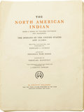 Photography:Official Photos, Edward S. Curtis: The North American Indian Volume Three Being a Series of Volumes Picturing and Describing The Indian...