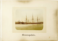 "Cruise of the ""Monongahela"": Collection of 96 Circa 1880 Hand-Tinted Albumen Photographs from China and Japan..."