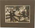 Antiques:Black Americana, Vintage Black Americana Photographs. This lot consists of twophotographs from the late 19th or early 20th century with Afri...(Total: 2 )