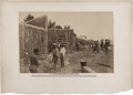 "Antiques:Black Americana, A. J. Russell Civil War Albumen Photograph of Black Laborers inVirginia, 12.75"" x 8.25"", 18"" x 12.5"" overall, bearing a pri..."