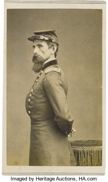 Scarcehalf PhotographyCDVs Carte De Visite Of Major General Lew Wallace