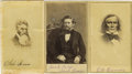 Photography:CDVs, Kit Carson, Jack Hayes, and John Brown: Cartes de Visite of These Three Important Nineteenth Century Historical Figure... (Total: 3 )