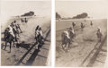 """Photography:Signed, Four John C. Hemment Horse Racing Images, two are 20"""" x 16"""" overall with matt and two are 16"""" x 20"""" overall with matt. The v... (Total: 4 )"""