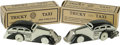 Antiques:Toys, Lot of Two Marx Tricky Taxis Wind-up Toys in Original Boxes . Tin litho, black and white design, both with original... (Total: 2 )