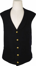 Military & Patriotic:Indian Wars, Indian Wars Period U.S. Army Officer's Five Button Vest. A niceexample of a vest from the post-Civil War U.S. army. The ves...