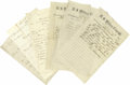 Military & Patriotic:Civil War, Large Civil War Archive Pertaining to the 11th ConnecticutVolunteers. Approximately 50 manuscript, printed, and partiallyp... (Total: 50 )
