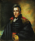 Political:3D & Other Display (pre-1896), Andrew Jackson: An Important Original Oil Portrait by Ralph E. W. Earl. Earl was closely associated with Jackson, and he was...