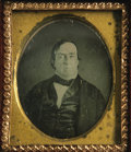 Political:Miscellaneous Political, Lewis Cass: A Rare And Important Political Campaign Daguerreotypefrom 1848. Please see our description for the Zachary Tayl...