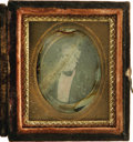 Political:Miscellaneous Political, Millard Fillmore: A Rare Small Daguerreotype from the 1848Campaign. The mate to the adjoining Zachary Taylor, it was parto...