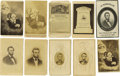 Photography:CDVs, Twenty Cartes de Visite of Various Abraham Lincoln Themes. This lot can be broken up into four sections: portraits, ... (Total: 20 )