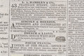 Political:Miscellaneous Political, Lincoln and Herndon, Attorneys and Counselors at Law Daily Illinois State Journal, Springfield, 1858. From Abraham Linc...