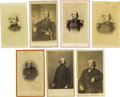 Photography:CDVs, Thirteen Benjamin Butler Cartes de Visite. This lot includes thirteen individual photographs of Butler, four of which ar... (Total: 13 )