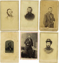 Photography:CDVs, Six Cartes de Visite of Ulysses S. Grant. Ulysses S. Grant (1822-1885), 18th President (1869-1877), served in the Me... (Total: 6 )