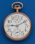 Timepieces:Pocket (post 1900), Elgin 21 Jewel 16 Size Father Time Up/Down Indicator. ...