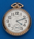 Timepieces:Pocket (post 1900), Waltham 23 Jewel Vanguard With Up/Down Indicator. ...