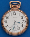 Timepieces:Pocket (post 1900), Howard Series 11 Railroad Chronometer With Original Box & Papers. ...