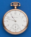 Timepieces:Pocket (pre 1900) , Hamilton Early Grade 960, 21 Jewel Pocket Watch. ...