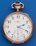 Timepieces:Pocket (post 1900), Ball 23 Jewel, 16 Size Official Standard. ...