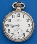 Timepieces:Pocket (post 1900), Ball 21 Jewel, Official Standard 16 Size. ...