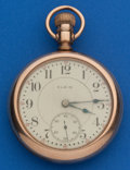 Timepieces:Pocket (post 1900), Elgin 18 Size, 23 Jewel Veritas. ...