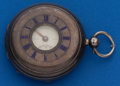 Timepieces:Pocket (pre 1900) , Henry Davis, Piccadilly Circus London, Lever Fusee SterlingDemi-Hunter. ...