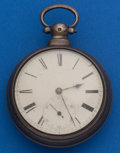 Timepieces:Pocket (pre 1900) , Gording Liverpool Lever Fusee Non Original Pair Case. ...