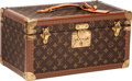 Luxury Accessories:Travel/Trunks, Louis Vuitton Classic Monogram Toiletries Train Case with Mirror....