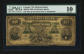 Canadian Currency: , Montreal, PQ- The Molsons Bank $10 July 3, 1899 Ch # 490-22-30. ...