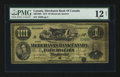 Canadian Currency: , Montreal, PQ- Merchants Bank of Canada $4 June 2, 1873 Ch #460-10-08. ...