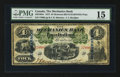 Canadian Currency: , Montreal, PQ- The Mechanics Bank $4 June 1, 1872 Ch # 430-10-04c....
