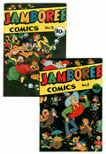Golden Age (1938-1955):Funny Animal, Jamboree Comics #1 and 2 Group (Round, 1946).... (Total: 2 ComicBooks)