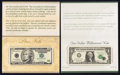 Small Size:Group Lots, BEP Special Notes with Special Housing.. ... (Total: 4 notes)