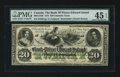 Canadian Currency: , Charlotte Town, PEI- The Bank of Prince Edward Island $20 Jan. 1,1872 Ch # 600-12-16R. ...