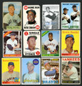 """Baseball Cards:Lots, 1950's-60's Topps & Bowman """"500 Home Run Club"""" Collection(24)...."""