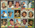 Baseball Cards:Sets, 1961 Topps Baseball Partial Set (482) With Over 40 High Numbers! ...