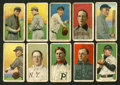 Baseball Cards:Lots, 1909-11 T206 White Border Baseball Collection (21) With Cobb. ...