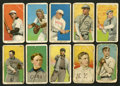 Baseball Cards:Lots, 1909-11 T206 White Border Baseball Collection (21) With TwoMathewson Cards. ...