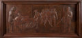 """Miscellaneous, Albert Stahler: """"Remember the Alamo."""" In copper, 78.75"""" x 36.25"""" x3.2"""". Circa 1936. Carefully executed on a single sheet of...(Total: 2 Items)"""
