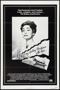 "Mommie Dearest (Paramount, 1981). One Sheet (27"" X 41""). Cult Classic"